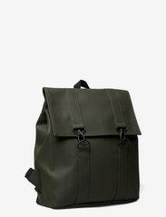 Rains - Msn Bag - rucksäcke - green - 1