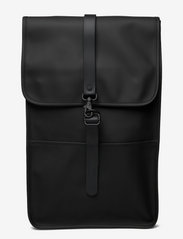 Rains - Backpack - väskor - 01 black - 0