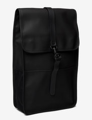Rains - Backpack - väskor - 01 black - 2