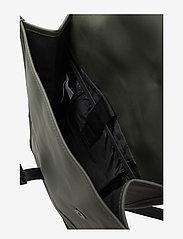 Rains - Backpack - väskor - 03 green - 3