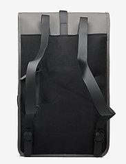 Rains - Backpack - rucksäcke - 18 charcoal - 2