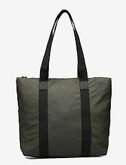 Rains - Tote Bag Rush - casual shoppers - 03 green - 1