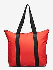 Rains - Tote Bag Rush - casual shoppers - red - 0