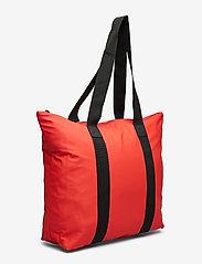 Rains - Tote Bag Rush - casual shoppers - red - 2