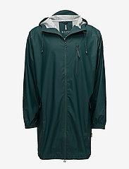 Rains - Parka Coat - jassen & mantels - 40 dark teal - 0