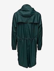 Rains - Parka Coat - jassen & mantels - 40 dark teal - 6