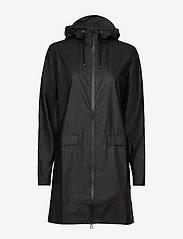 Rains - W Coat - regenbekleidung - 01 black - 2