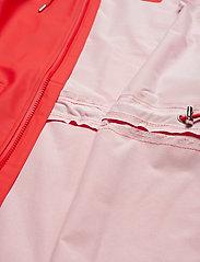 Rains - W Jacket - regenbekleidung - red - 5