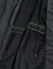Rains - Long W Jacket - regenbekleidung - black - 4