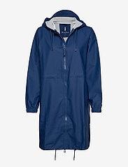 Rains - Long W Jacket - regenbekleidung - klein blue - 0