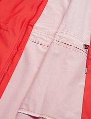 Rains - Long W Jacket - regenbekleidung - red - 2