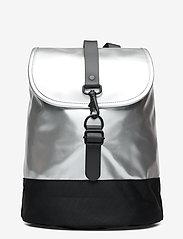 Rains - Drawstring Backpack - rucksäcke - 12 silver - 1