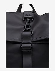 Rains - Rolltop Rucksack - sacs à dos - 01 black - 3