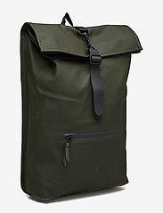 Rains - Rolltop Rucksack - sacs à dos - 03 green - 2
