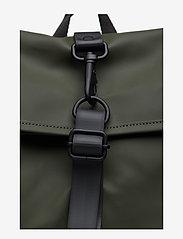 Rains - Rolltop Rucksack - sacs à dos - 03 green - 3