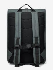 Rains - Rolltop Rucksack - sacs à dos - 05 slate - 1
