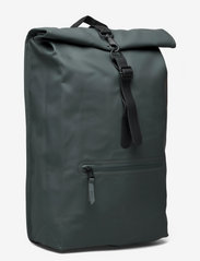 Rains - Rolltop Rucksack - sacs à dos - 05 slate - 2