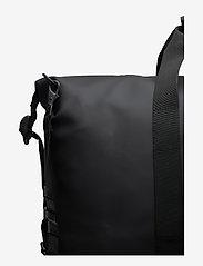 Rains - Weekend Bag - matkalaukut - 01 black - 3