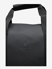 Rains - Weekend Bag - matkalaukut - 01 black - 4