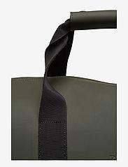 Rains - Weekend Bag - matkalaukut - 03 green - 3