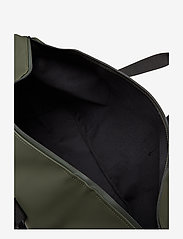 Rains - Weekend Bag - matkalaukut - 03 green - 5