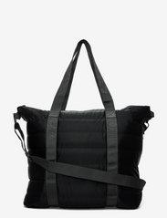 Tote Bag Quilted - 29 VELVET BLACK