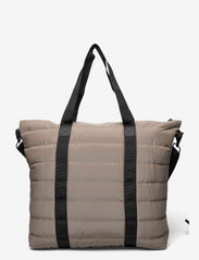 Rains - Tote Bag Quilted - weekend bags - 33 velvet taupe - 1