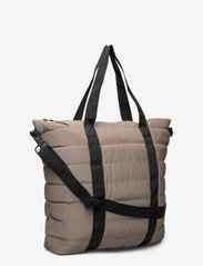 Rains - Tote Bag Quilted - weekend bags - 33 velvet taupe - 2