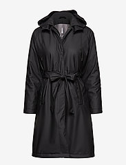 Rains - W Trench Coat - regntøj - 01 black - 1