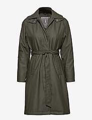 Rains - W Trench Coat - regntøj - 03 green - 1