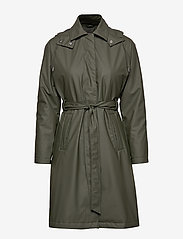 Rains - W Trench Coat - regntøj - 03 green - 2