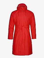 Rains - W Trench Coat - regenbekleidung - red - 2