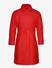 Rains - W Trench Coat - regenbekleidung - red - 3
