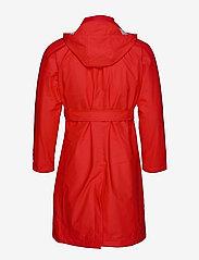 Rains - W Trench Coat - regenbekleidung - red - 4