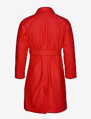 Rains - W Trench Coat - regenbekleidung - red - 5
