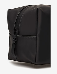 Rains - Wash Bag Small - kulturtaschen - 01 black - 4