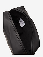 Rains - Wash Bag Small - kulturtaschen - 01 black - 5