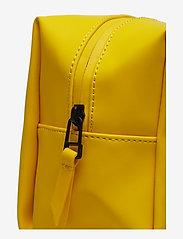 Rains - Wash Bag Small - toilettassen - 04 yellow - 3