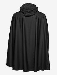 Rains - Cape - manteaux de pluie - 01 black - 1