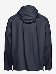 Rains - Short Hooded Coat - manteaux de pluie - 02 blue - 1