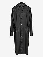 Rains - Longer Jacket - manteaux de pluie - 01 black - 0
