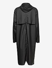 Rains - Longer Jacket - manteaux de pluie - 01 black - 1