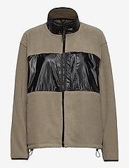 Rains - Fleece Jacket - basic-sweatshirts - 17 taupe - 0