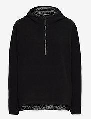 Rains - Fleece Pullover - fleece jassen - 01 black - 0