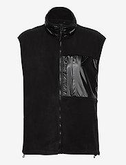 Rains - Fleece Vest - puffer vests - 01 black - 0