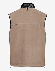 Rains - Fleece Vest - puffer vests - 17 taupe - 1