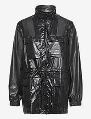 Rains - Ultralight Zip Off Parka - manteaux de pluie - 24 shadow black - 0