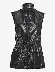 Rains - Ultralight Zip Off Parka - manteaux de pluie - 24 shadow black - 2