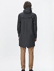 Rains - Long Jacket - manteaux de pluie - 01 black - 4