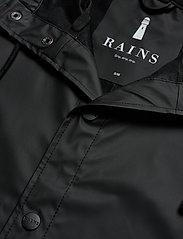 Rains - Long Jacket - manteaux de pluie - 01 black - 5